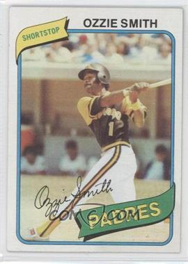 1980 Topps - [Base] #393 - Ozzie Smith