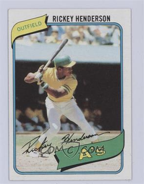 1980 Topps - [Base] #482 - Rickey Henderson [Excellent‑Mint]