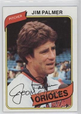 1980 Topps - [Base] #590 - Jim Palmer