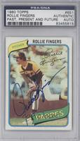 Rollie Fingers [PSA/DNA Certified Auto]