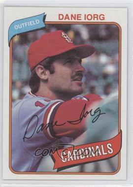 1980 Topps #139 - Dane Iorg