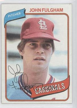 1980 Topps #152 - John Fulgham