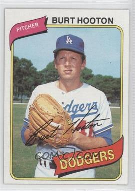 1980 Topps #170 - Burt Hooton