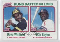 1979 RBI Leaders (Dave Winfield, Don Baylor)