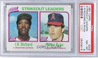 J.R. Richard, Nolan Ryan [PSA 8]
