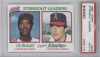 J.R. Richard, Nolan Ryan [PSA 9]
