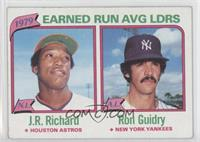 J.R. Richard, Ron Guidry [Good to VG‑EX]