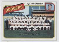 Los Angeles Dodgers Team (Tommy Lasorda)