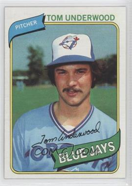 1980 Topps #324 - Tom Underwood