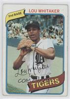 Lou Whitaker [Good to VG‑EX]