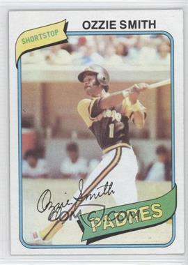 1980 Topps #393 - Ozzie Smith