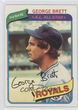 1980 Topps #450 - George Brett