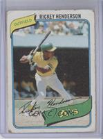Rickey Henderson [Poor to Fair]