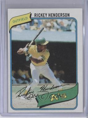 1980 Topps #482 - Rickey Henderson