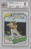 Rickey Henderson [BVG6]