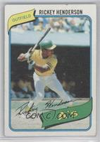 Rickey Henderson [Very Good‑Excellent]