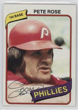 1980 Topps #540 - Pete Rose