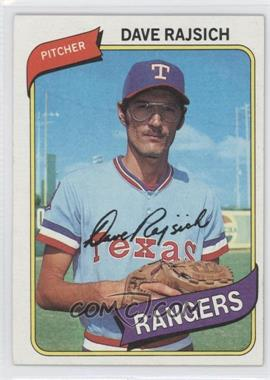 1980 Topps #548 - Dave Rajsich