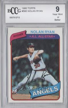 1980 Topps #580 - Nolan Ryan [ENCASED]