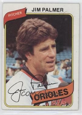 1980 Topps #590 - Jim Palmer