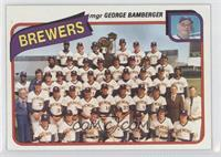 Milwaukee Brewers Team (George Bamberger)