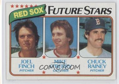 1980 Topps #662 - Joel Finch, Mike O'Berry, Chuck Rainey