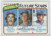Renie Martin, Bill Paschall, Dan Quisenberry [Poor to Fair]