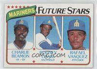 Seattle Mariners Future Stars(Charlie Beamon, Rod Craig, Rafael Vasquez)
