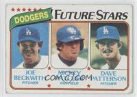 Joe Beckwith, Mickey Hatcher, Dave Patterson