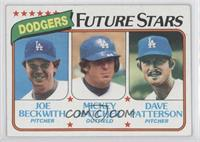 Joe Beckwith, Mickey Hatcher, Dave Patterson [Good to VG‑EX]