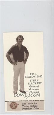 1980 Valley National Bank Phoenix Giants #24 - Ethan Blackaby