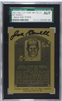 Joe Sewell [SGC AUTHENTIC AUTO]