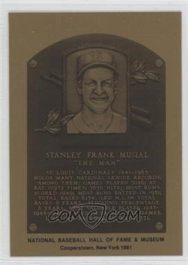 1981-89 Metallic Hall of Fame Plaques #N/A - Steve Mura