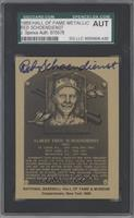 Red Schoendienst [SGC AUTHENTIC AUTO]