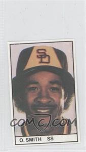 1981 All-Star Game Program Inserts - [Base] #OZSM - Ozzie Smith