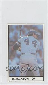 1981 All-Star Game Program Inserts - [Base] #REJA - Reggie Jackson