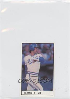 1981 All-Star Game Program Inserts #GEBR - George Brett