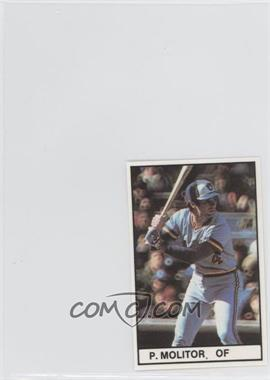 1981 All-Star Game Program Inserts #PAMO - Paul Molitor