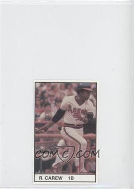 1981 All-Star Game Program Inserts #ROCA - Rod Carew