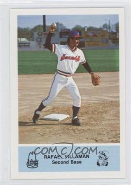 1981 Arby's Nashville Sounds Team Set [Base] #2B - Rafael Villaman