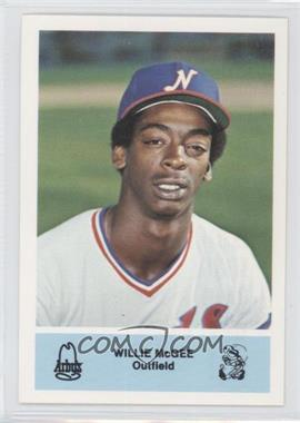1981 Arby's Nashville Sounds Team Set [Base] #N/A - Willie McGee