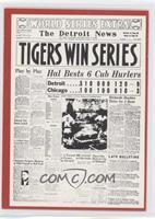 Tigers Win Series