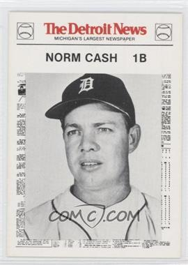 1981 Detroit News Detroit Tigers Boys of Summer 100th Anniversary #73 - Norm Cash