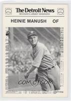 Heinie Manush