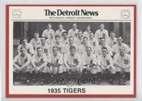 1935 Detroit Tigers Team