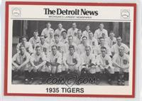 1935 Detroit Tigers Team