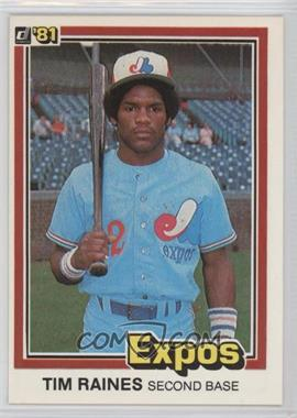 1981 Donruss - [Base] #538 - Tim Raines