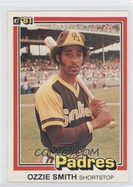 1981 Donruss #1 - Ozzie Smith
