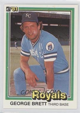 1981 Donruss #100 - George Brett