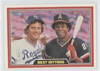 George Brett, Rod Carew